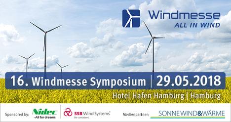16. Windmesse Symposium 29.5.2018