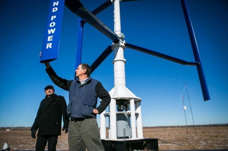 Editor's Choice - The Vertical Axis Wind Turbine Sky Farm