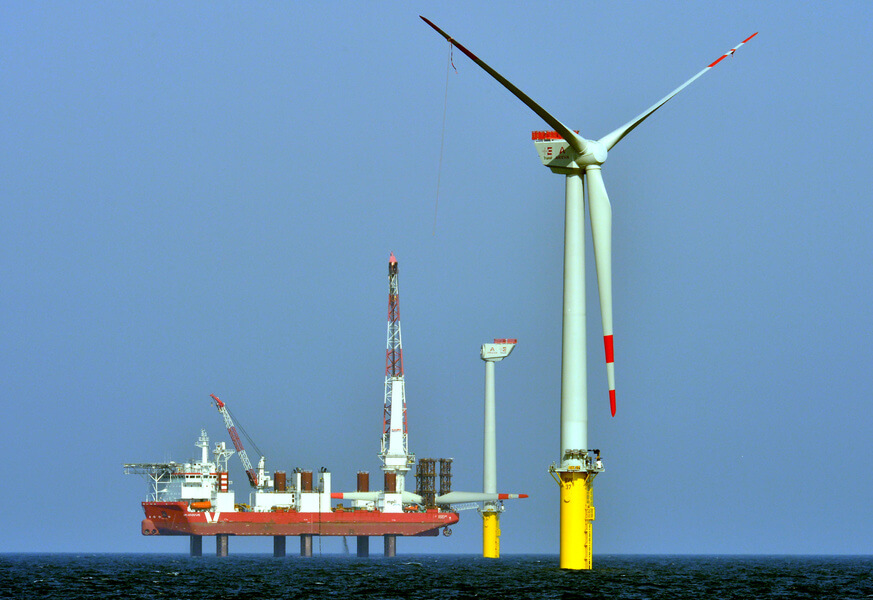Windpark borkum