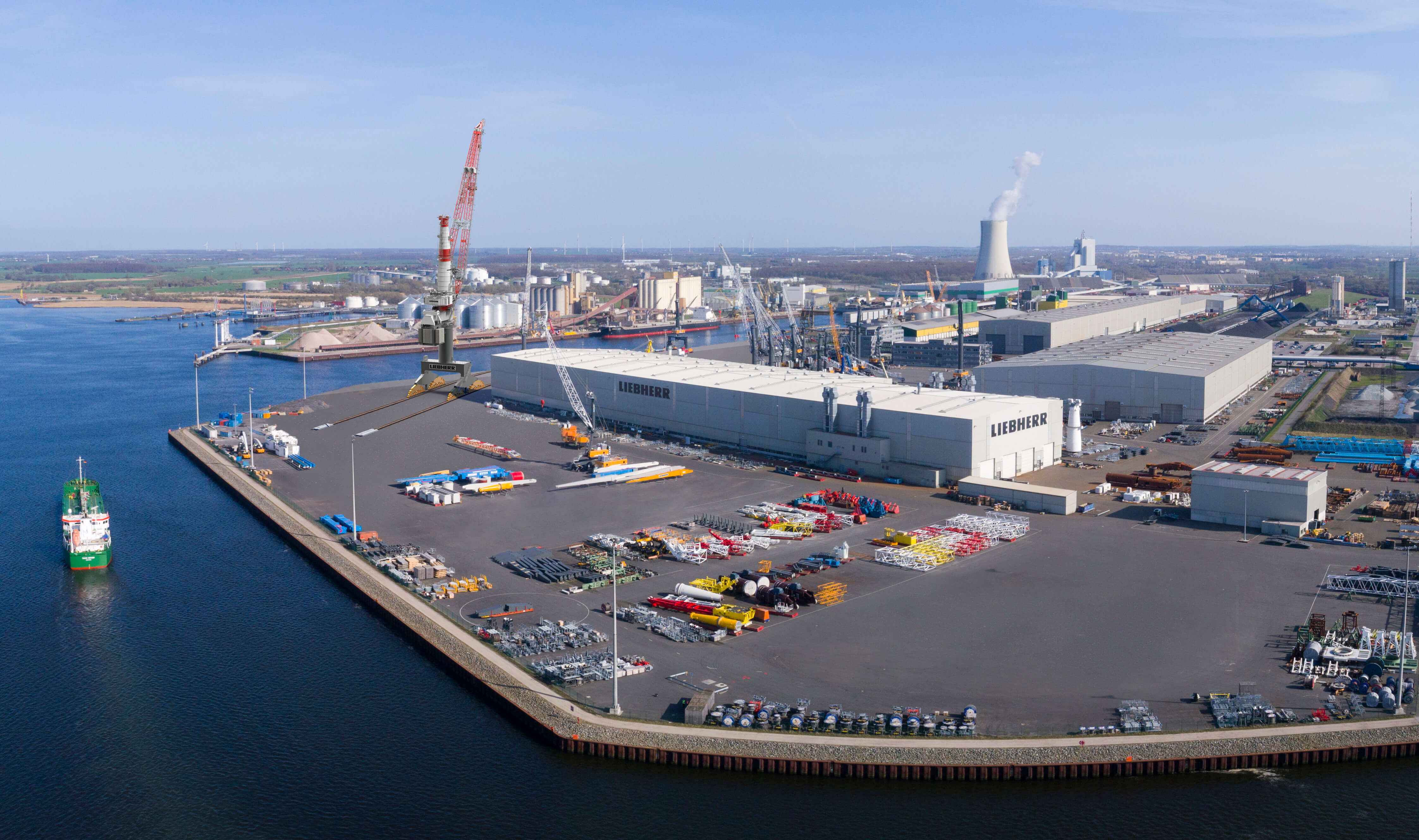 Liebherr Rostock Kran